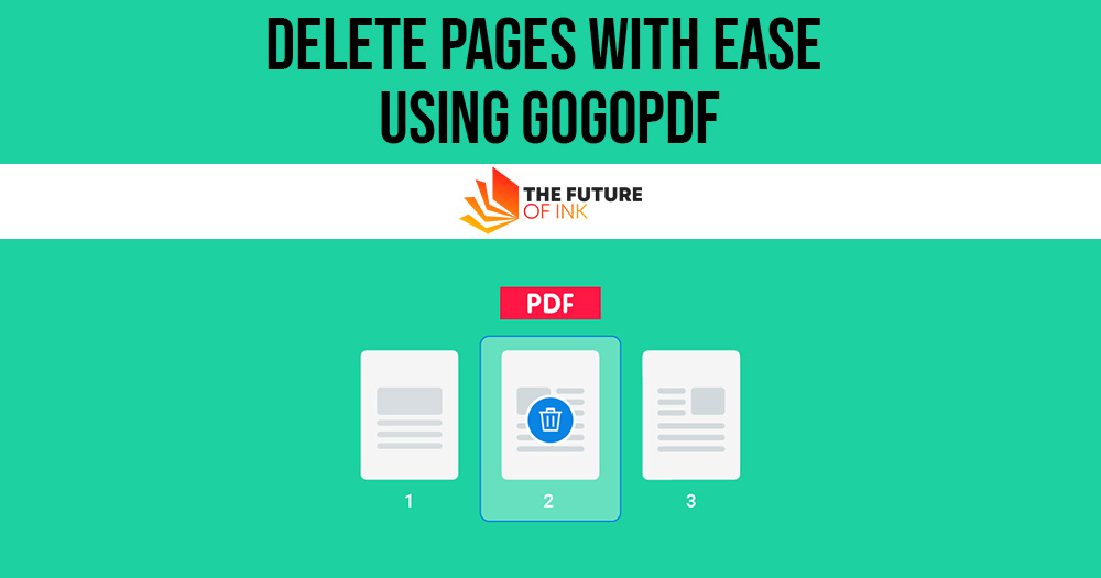 Delete Pages With Ease Using GogoPDF