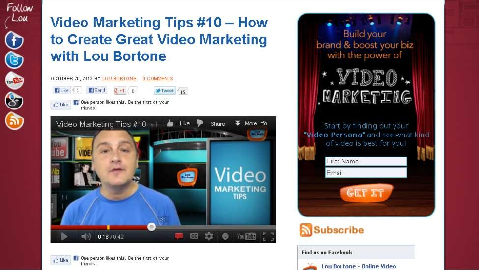 My Video Tips Series originally began as written blog posts