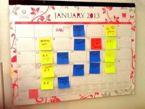 Sticky Note Planning Method